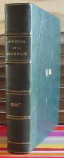 ENFANTINA LE JOURNAL DE LA JEUNESSE RELIURE ANNEE COMPLETE 1887 ILLUSTRE
