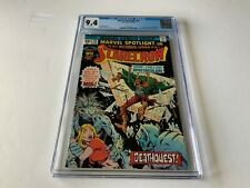 MARVEL SPOTLIGHT 26 CGC 9.4 WHITE PAGES SCARECROW PITS OF HELL MARVEL COMICS