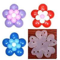 Decorate Balloons Clips Flower Shape  for Party Wedding Events Activities