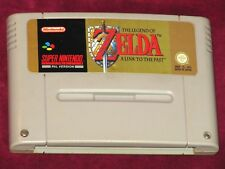 SUPER NINTENDO - THE LEGEND OF ZELDA A LINK TO THE PAST! RPG CARTRIDGE PAL SNES!