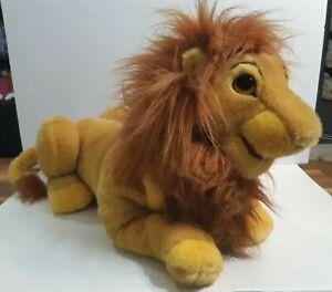"""Disney The Lion King Simba Plush Puppet Figure  21"""" Long"""