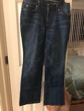 Size 8 Ann Taylor Loft curry boot cut jeans