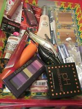 50 PIECE NAME BRAND COSMETICS MAKEUP LOT CLEAN  MAYBELLINE,REVLON, CG,PHYSICIANS