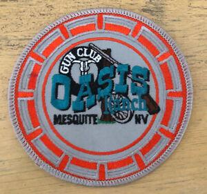 Mesquite Nevada Oasis Ranch Gun Club Patch