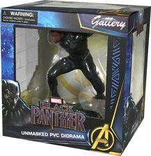 "BLACK PANTHER - Unmasked 9"" Marvel Gallery PVC Diorama (Diamond Select Toys)"