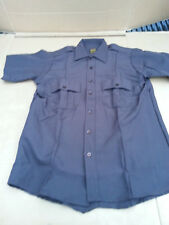 "CLIFTON SUPER SHIRT BROWN ""NWOT"" UNIFORM SHIRT, POLICE, MILITARY, OFFICER SHIRT"