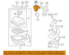 Pontiac GM OEM 09-10 Vibe Air Cleaner Intake-Air Chamber 88975806