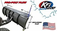 "KFI 72"" UTV Poly Blade Snow Plow Kit for 2015 Arctic Cat Prowler 550"