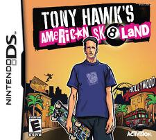 Tony HAWK'S AMERICAN SK 8 Land Tarjeta de Juego de Niños Ds Ds Ds Lite Dsi Xl 3 DS 3 DS 2 DS