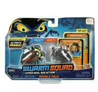 SWARM SQUAD COCKROACH & TRILOBITE BEETLE Motorized Bugs 2-PACK SET *** NEW