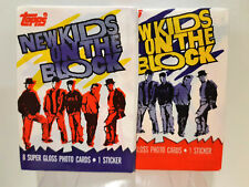 Topps Kids On The Block NKOTB Trading Cards 1989 Pack
