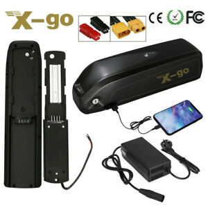 48V 13AH 36V 15AH 1000W 500W Li-Ion Battery Downtube Electric Bicycle Bike USB