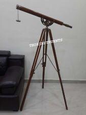Nautical Collectible Decorative Telescope Adjustable Brown Tripod Telescope Gift