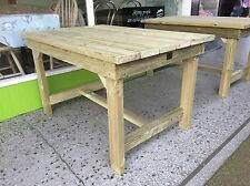 Table , Wooden Garden Table ,Wooden Garden Furniture, Tanalised, Heavy duty.