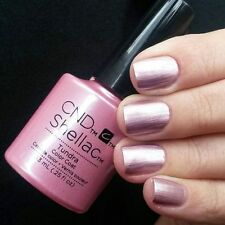 CND Shellac **TUNDRA** Dusty Rose Metallic UV Gel Nail Power Polish Color Coat