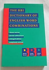 The BBI Dictionary of English Word Combinations