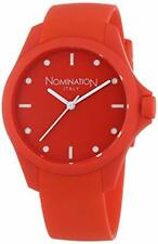 Nomination Pure Silicone Red Watch Brand New
