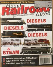 Model Railroad News Diesel & Steam NMRA Show Classic Toy Sep 2014 FREE SHIPPING