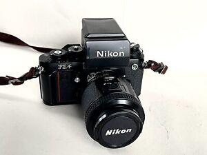 Nikon F3 AF with 80 mm/2.8 and Prism Finder
