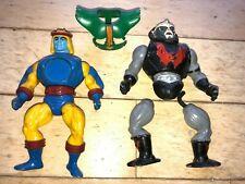 Vintage He-Man MOTU Repair Parts Figures Sy-Klone Hordak Triclops Armor