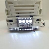 1:14 Frontstoßstange LED Light Bar Licht Für Tamiya Scania 620 56323 730 Truck