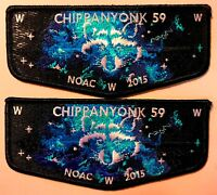 CHIPPANYONK 59 BSA KNOX TRAIL PATCH OA 100TH CENTENNIAL 2015 NOAC FLAP PROTOTYPE