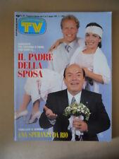 TV SORRISI E CANZONI n°25 1992 Lino Banfi Isabella Rossellini Telegatti [G799]