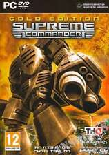 Supreme Commander Gold Edition - PC DVD - New & Sealed