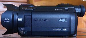 Caméscope PANASONIC 4K HC-VXF990