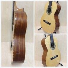 Miguel Rosales #9 Solid Cedar Top Classical Guitar,Natural +Free Gig Bag,Strings