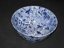 Newport Pottery Burslem blue patterned bowl