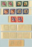 Russia USSR 1957 SC 1963-1967 Z 1940-1944 MNH pairs . e3139