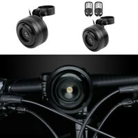 Anti-Theft Bell Alarm Waterproof Bicycle Cycling Handlebar Remote Control