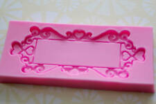 Baroque Classic Large Lace Frame Silicone Mold for Fondant, Chocolate, Crafts