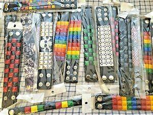 50 Studded Bracelet Vegan Faux Leather Bangle For Men Women Wristband  lot of 50