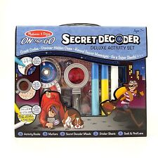 Secret Decoder Kids Spy Kit be a Detective Crack Codes Melissa and Doug Age 7+