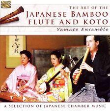 Yamato Ensemble - Japanese Bamboo Flute & Koto [New CD]