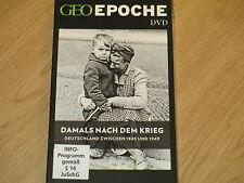 GEO EPOCHE - NUR DIE DVD: DAMALS NACH DEM KRIEG DEUTSCHLAND ZWISCHEN 1945 & 1949