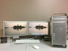 """Apple Mac Pro 1,1 - ( 2006)~2.66/16GB~750GB~2 X 20"""" CINEMA DISPLAY~TURNKEY"""