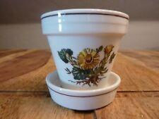 Villeroy & Boch * Botanica * Kräutertöpfchen - mini Blumentopf H:7,2 cm Ø 7,2 cm