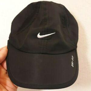 Nike Dri-Fit Toddler Black Ball Cap Hat Adjustable Baseball
