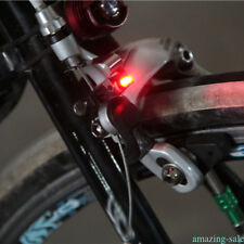 For V&C Calipers Road Brake Bike Cycling Bicycle Nano Red LED Lights Safe 1pc