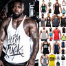 Men's Tank Top T-Shirt Muscle Camo Tee Bodybuilding Sports Fitness Gym Vests