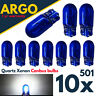 10 X T10 501 W5W XENON POWER SIDE LIGHT BULBS ERROR FREE CANBUS WEDGE CAR 12V