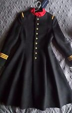 """Ralph LAUREN Cappotto Militare/Principessa/Giacca 12y -15.7"""" sul petto misto cachemire £ 690"""
