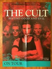The Cult Beyond Good and Evil Vintage Lp Cd Record Store Tour Poster 2001