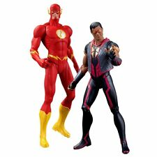 """DC  COLLECTIBLES NEW 52 THE FLASH vs. VIBE 6.75"""" ACTION FIGURE 2-PACK NIP!!"""