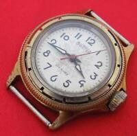 Vostok Boctok Junior vintage wrist watch 17 jewels mechanical Soviet USSR Russia