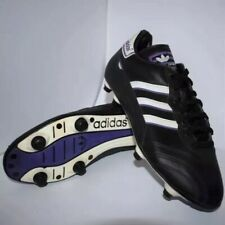 Rare 1998 Adidas FX 300 Football Boots Vintage Deadstock Size 8uk Purple Black