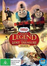 Thomas & Friends: Sodor's Legend of the Lost Treasure: The Movie DVD **NEW** -R4